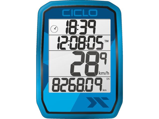 Ciclosport Protos 105 Fietscomputer, blauw